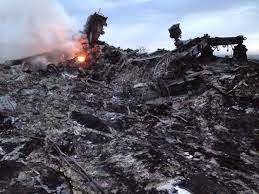 Hiện trường vụ rơi máy bay MH17 của hãng hàng không Malaysia