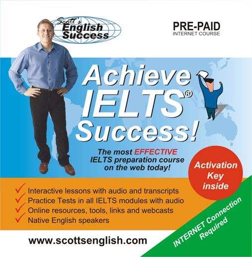 IELTS Practice Tests from Scott's English Success