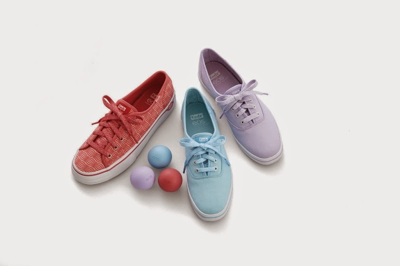 Keds x eos pastel sneakers