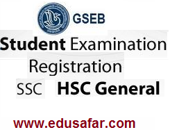 Standard 10 and 12 Students examination Regstretion