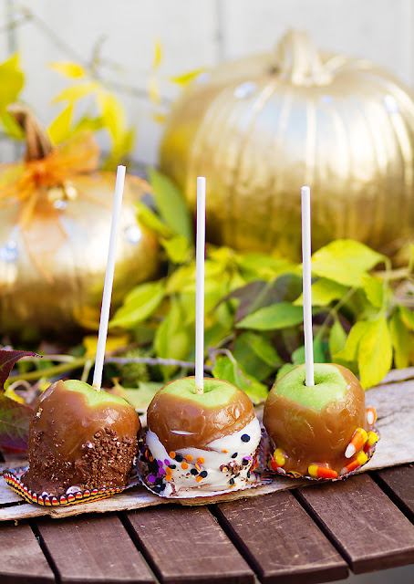 Lady by the Bay - Homemade Caramel Apple Recipe