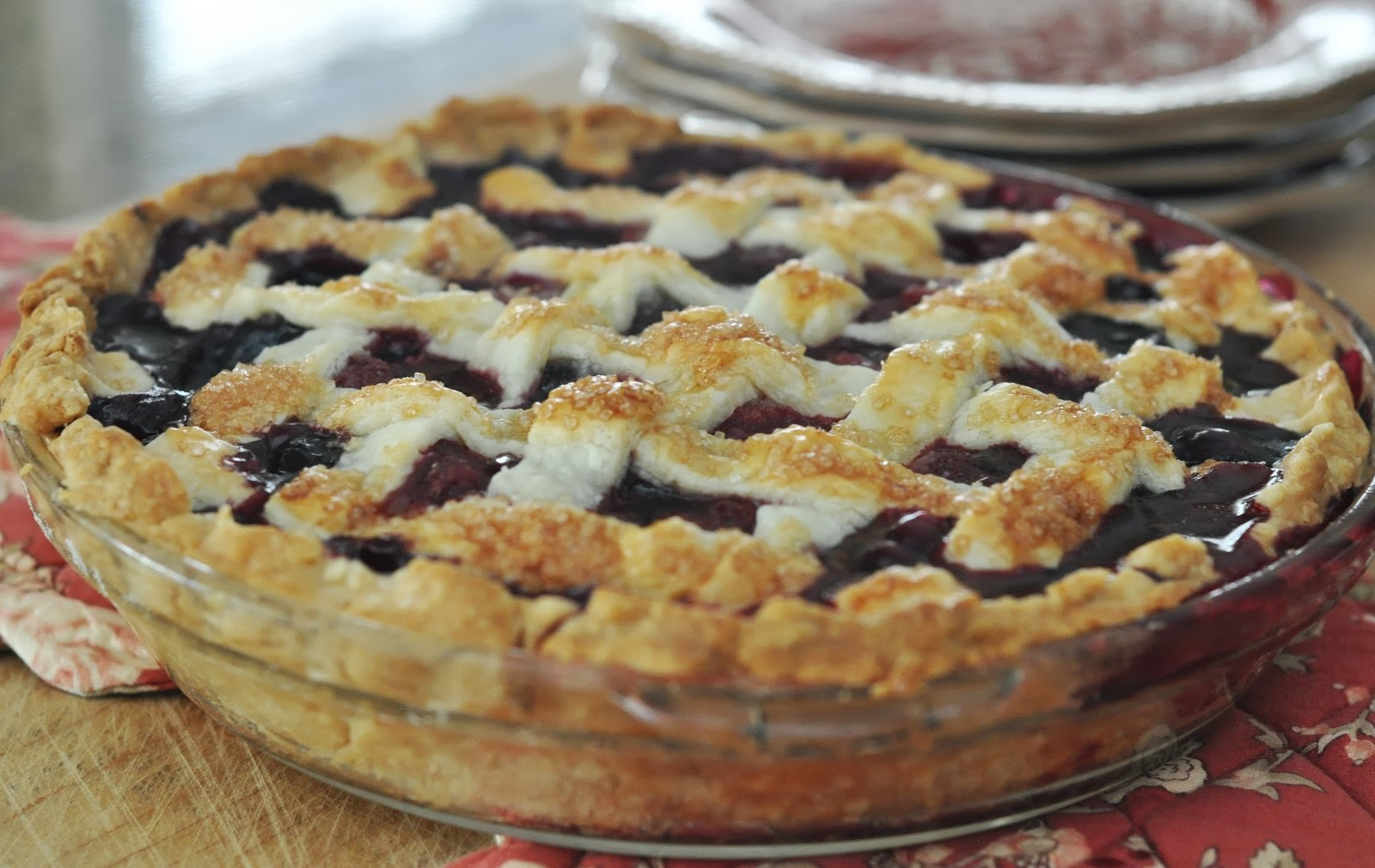 Mennonite Girls Can Cook: Lattice Work Pies
