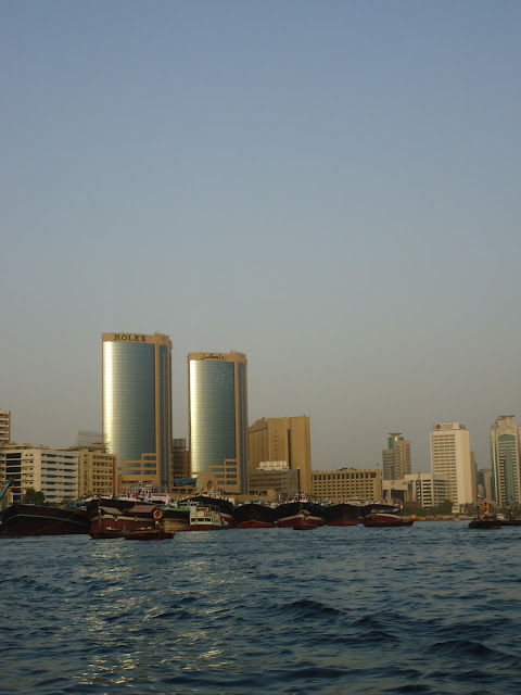 Our Destination: Rolex tower in Deira