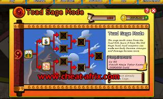Cheat SS (Senjutsu Skill) Ninja Saga 2016