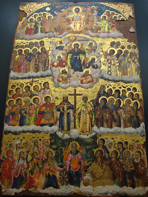 Ioannina, icono bizantino de Constantino y Helena