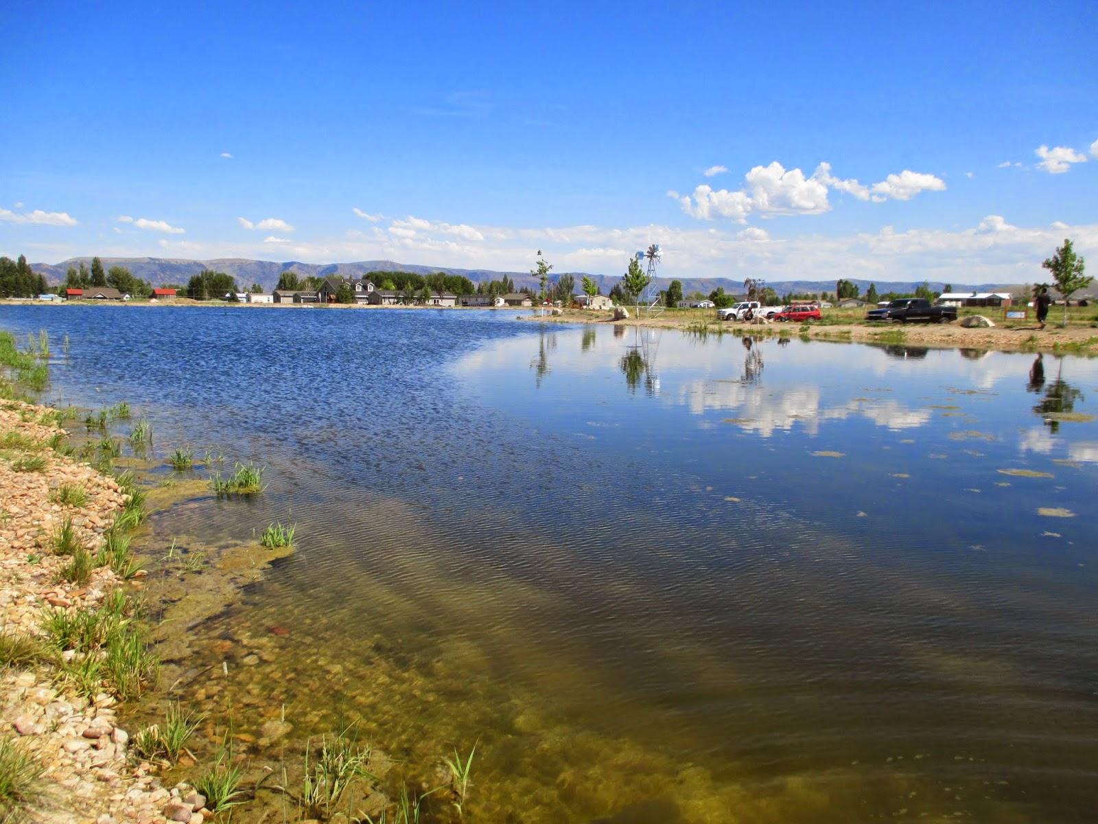 backyard excursions heritage park community fishing pond