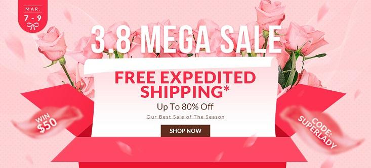 Rosegal Mega Sale