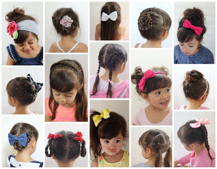 Tren Model Rambut Anak Perempuan Masa Kini - Gaya rambut anak perempuan ke sekolah