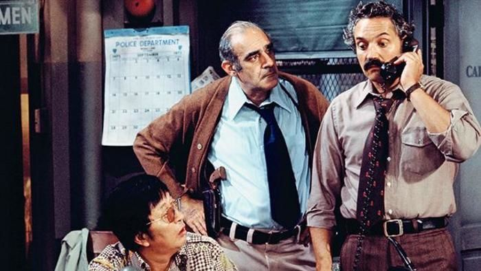 Detective Barney Miller and Detective Fish