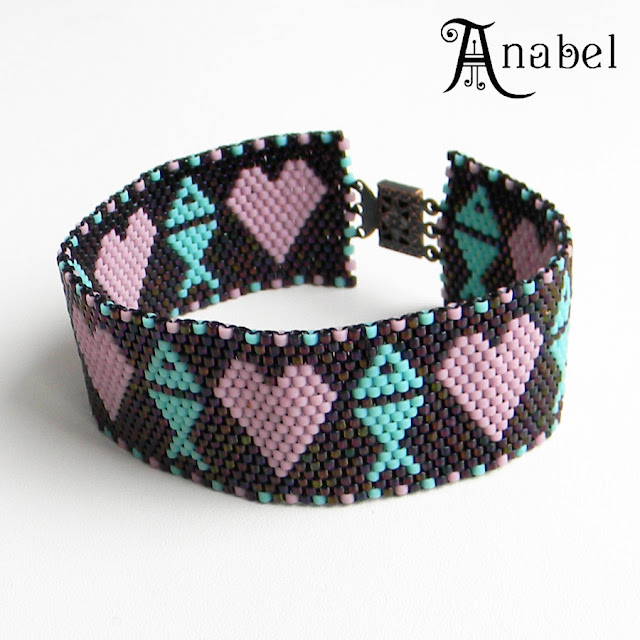 украшения из бисера интернет магазин peyote bracelet