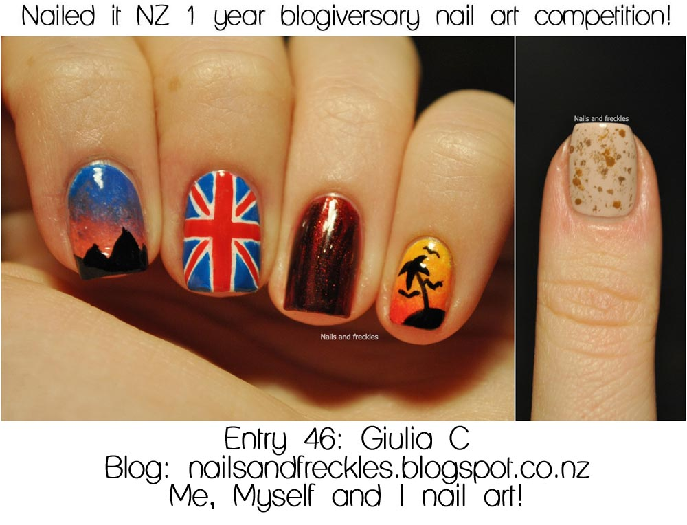 Announcing the winners of my nail art competition and giveaway nailed it nz prinsesfo Images
