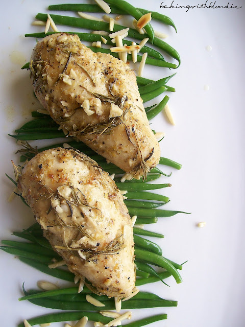 Baking with Blondie : Garlic Roast Chicken with Rosemary and Lemon ...