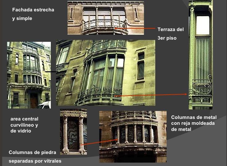 Art nouveau art nouveau materiales en la construcci n Art nouveau arquitectura