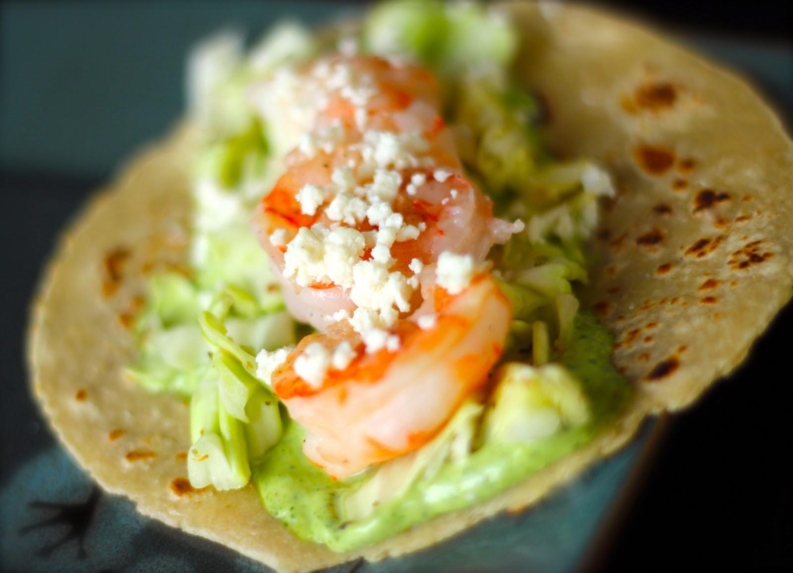 Kristen's Shrimp Tacos -Favorite Family Recipes