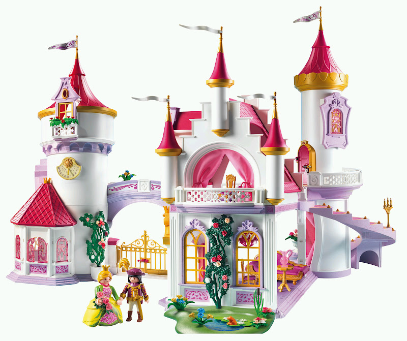 Chateau princesse playmobil for Chateau playmobil 4250