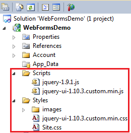 jquery javascript files required for implementing autocomplete feature in asp.net web forms