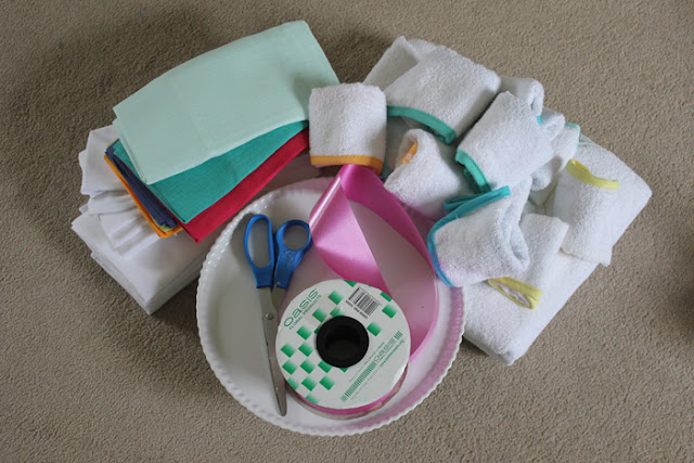 make a cloth diaper cake