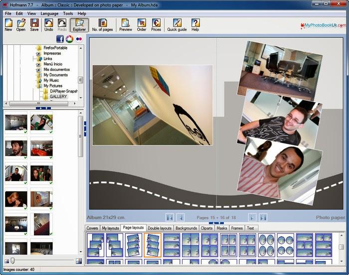 Digital photo album maker software
