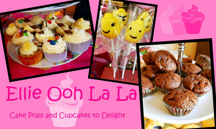 Ellie Ooh La La - Cake Pops and Cupcakes to Delight