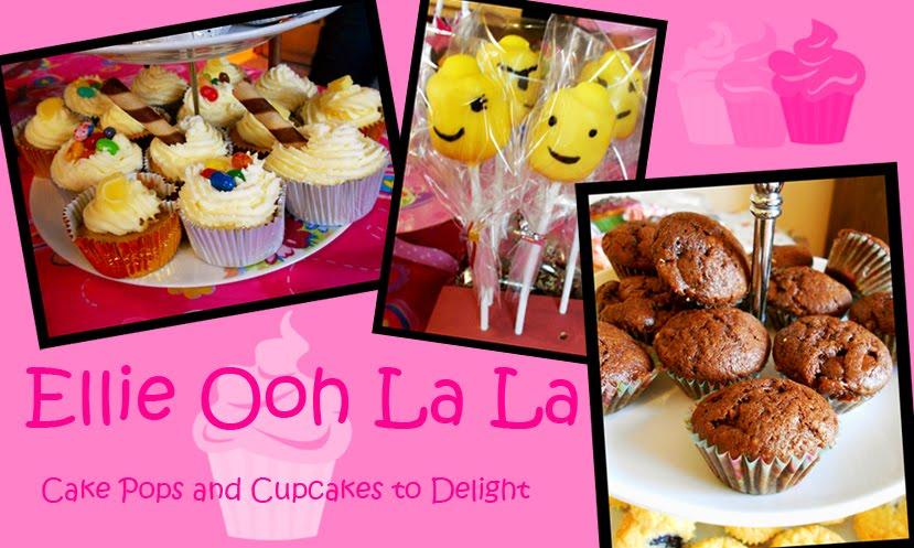 Ellie Ooh La La - Cake Pops and Cupcakes to Delight