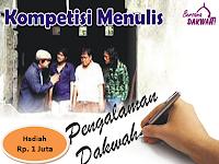 Kompetisi menulis pengalaman dakwah (KMPD)
