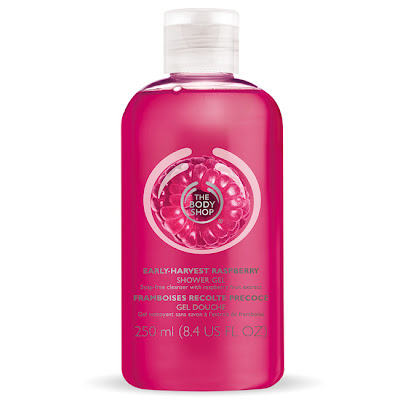 The Body Shop, The Body Shop Early-Harvest Raspberry Shower Gel, body wash, shower gel, bath and body products
