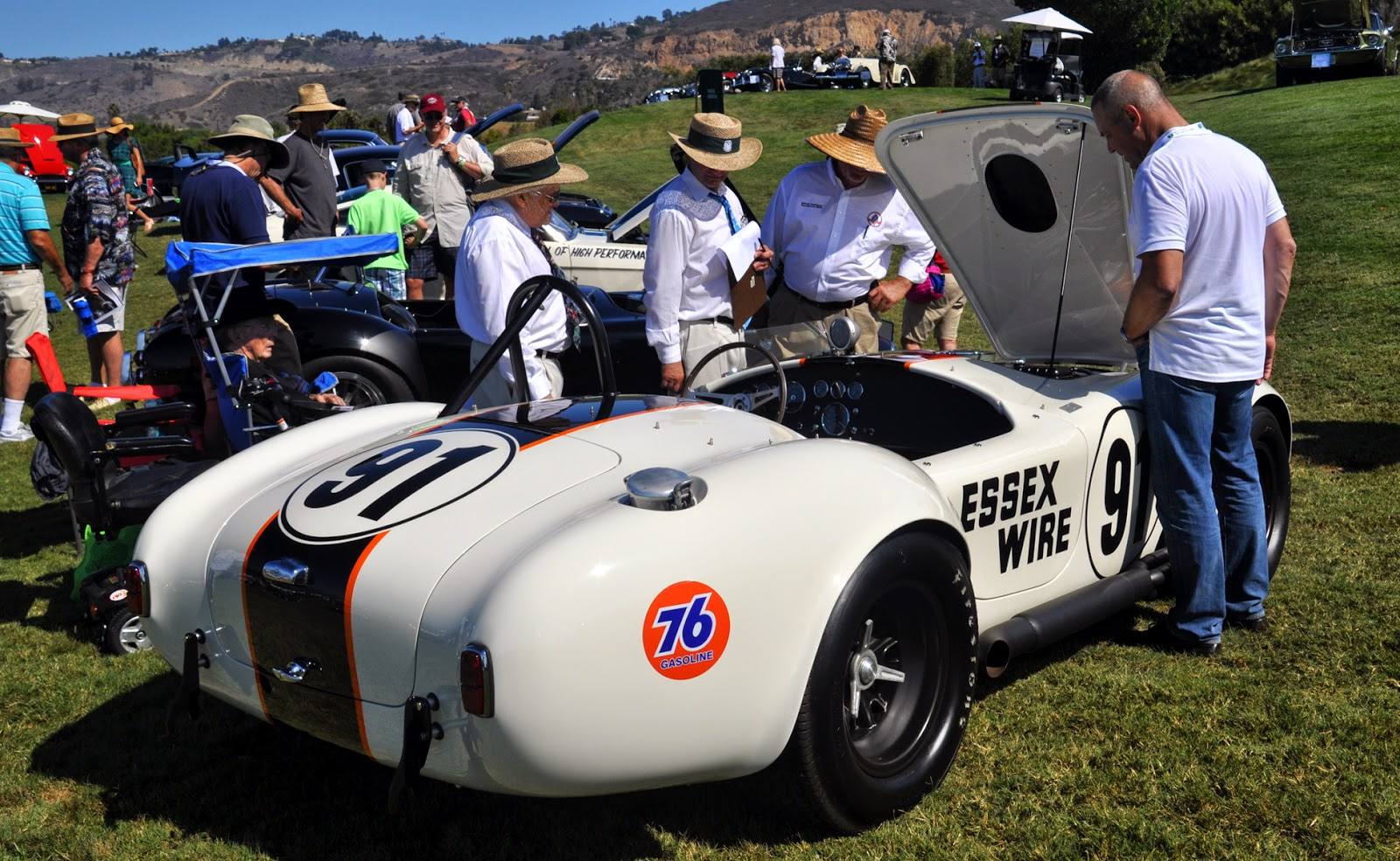 Ollie the dragon the essex wire 1965 427 shelby competition ac cobra csx 3009