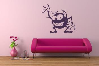 funny monster wall sticker