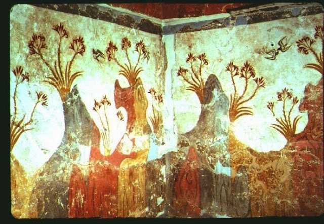 roman wall painting fresco