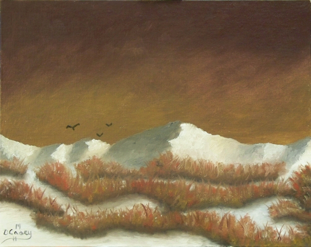 Snowy Foothills  001a 8x10 oil on linen panel - Dave Casey - TheDailyPainter.jpg
