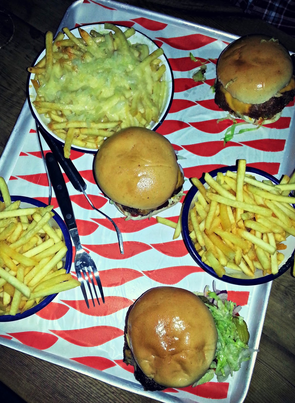 Meatliquor London Review Burgers and Fries