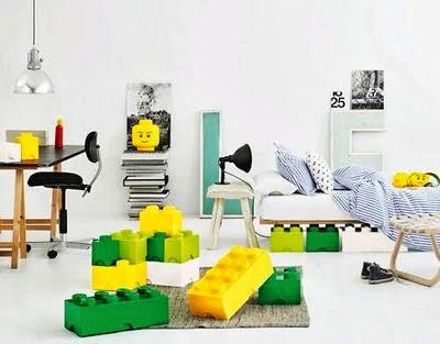 Detr s de mi puerta decorar con piezas de lego - Piezas lego gigantes ...