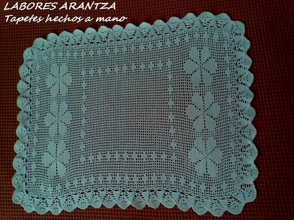 Arantza rivas ropa de dise o para beb s tapetes de crochet for Tapetes de ganchillo