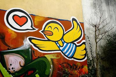 IMAGEM: O amor está no ar, voando