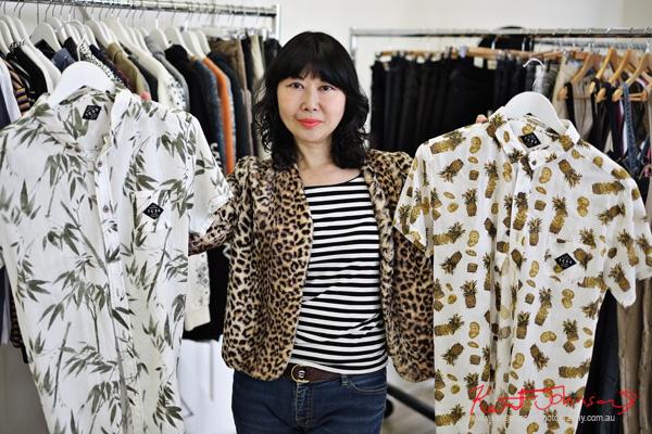 Portobello PR Autumn Winter 16 showings, Shirts, Patterns.