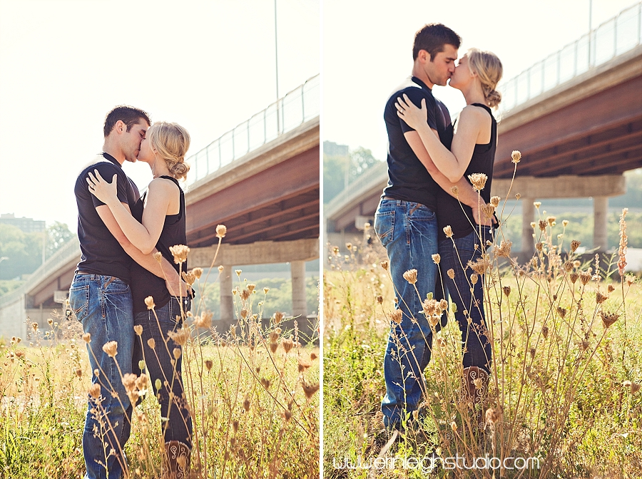 engagement session in kansas city