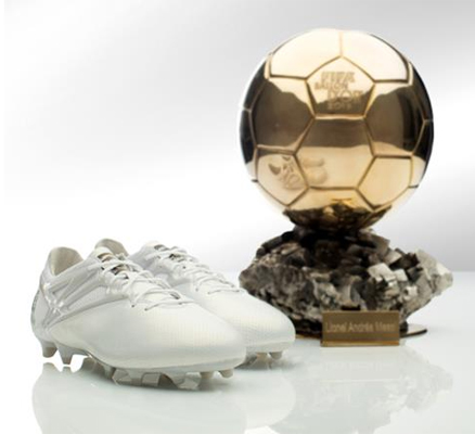 botas de fútbol Messi15 adidas Leo Messi 5º balón de Oro