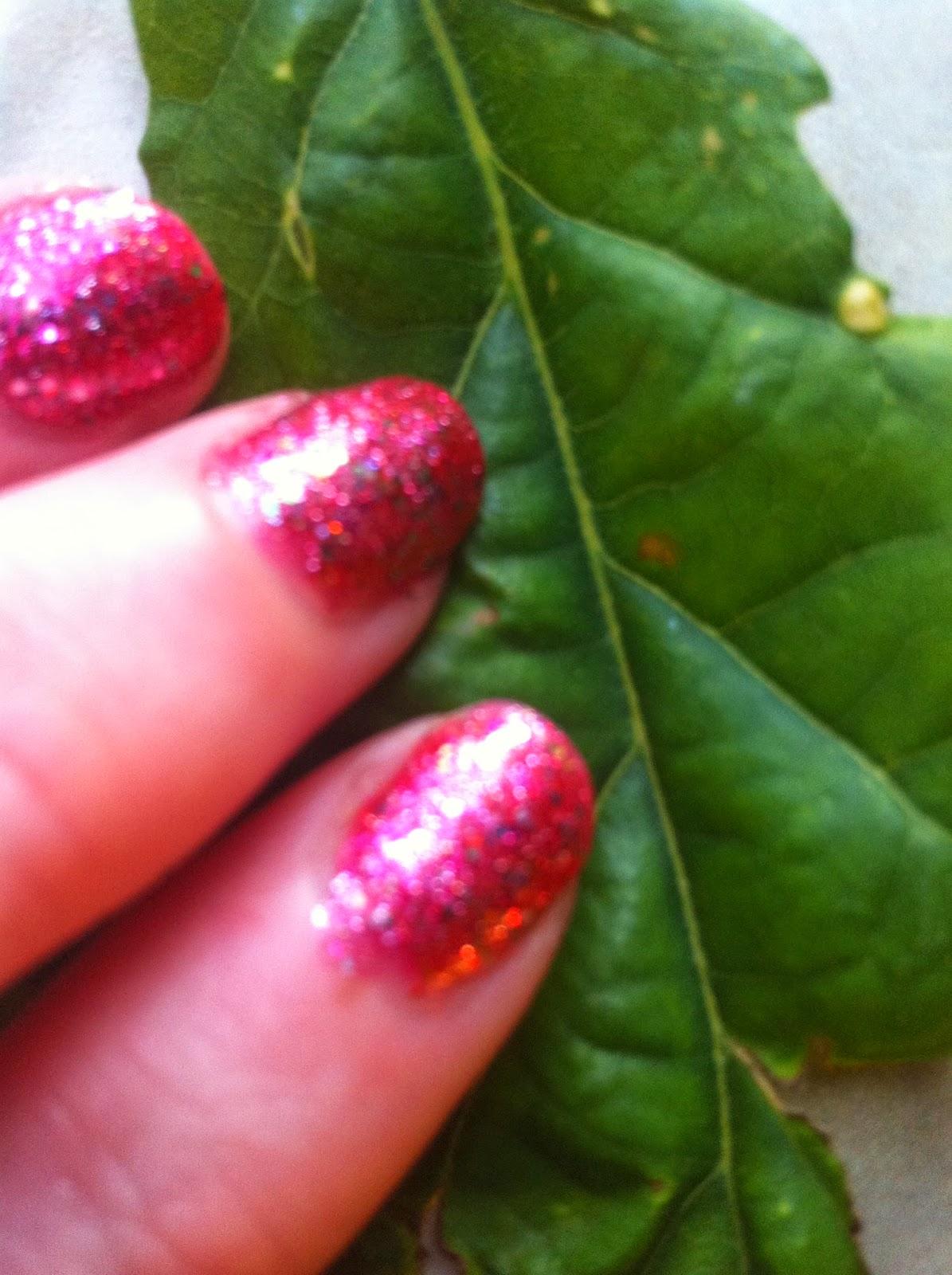 O.P.I Nail polish Glitter