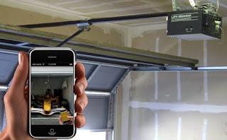 Portland garage door opener app