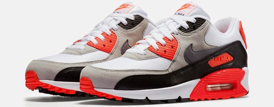 Nike Air Max 90 Retro Grey Red White