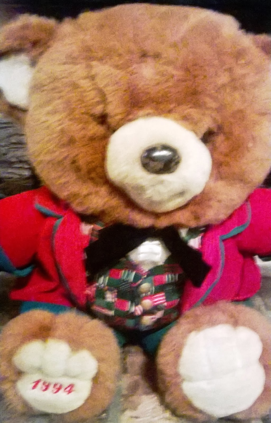 The Teddy Bear Shelter: CHRISTMAS TEDDY BEARS- Walmart Dan Dee ...
