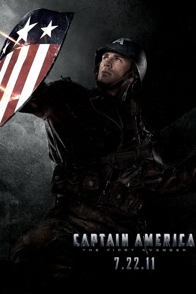 Captain America The First Avenger Iphone Hd Wallpaper Iphone Hd