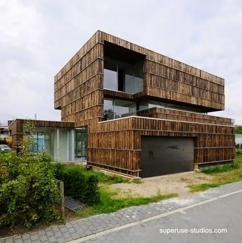 Villa Welpeloo vista en perspectiva en Holanda