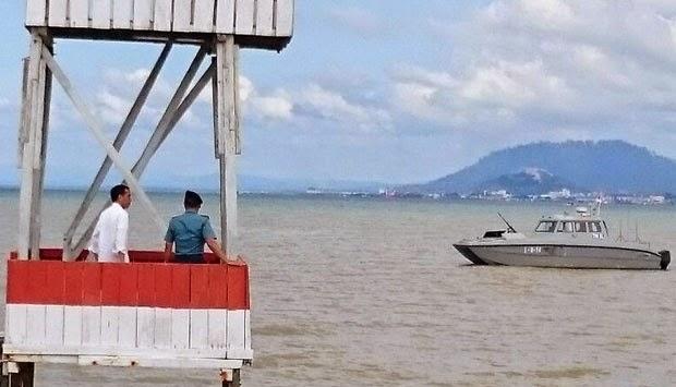 Beda Gaya Jokowi dan SBY di Sebatik