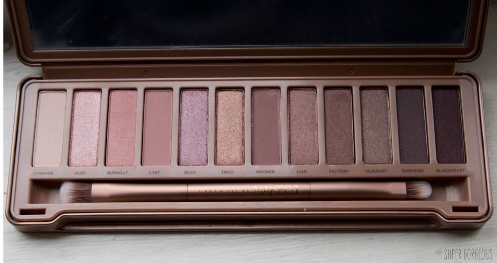 urban decay naked 3 palette super gorgeous. Black Bedroom Furniture Sets. Home Design Ideas