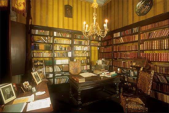 Biblioteca de Aníbal Lester en Florencia