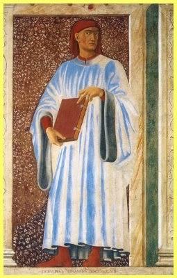 Boccaccio Retrato Castagno