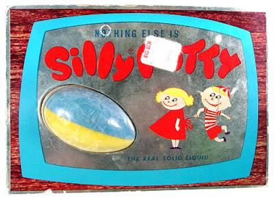 when was the silly putty invented