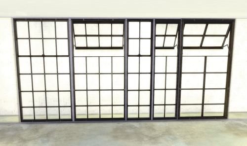 Original Industrial Windows #011 - The Urban Avenue