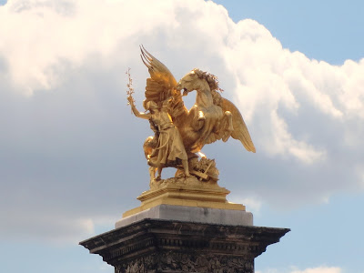Pont Alexandre III, Paris, France www.thebrighterwriter.blogspot.com